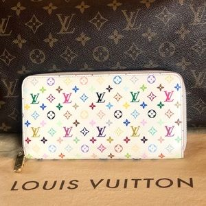 🎀Wallet🎀 Louis Vuitton multicolor Zippy